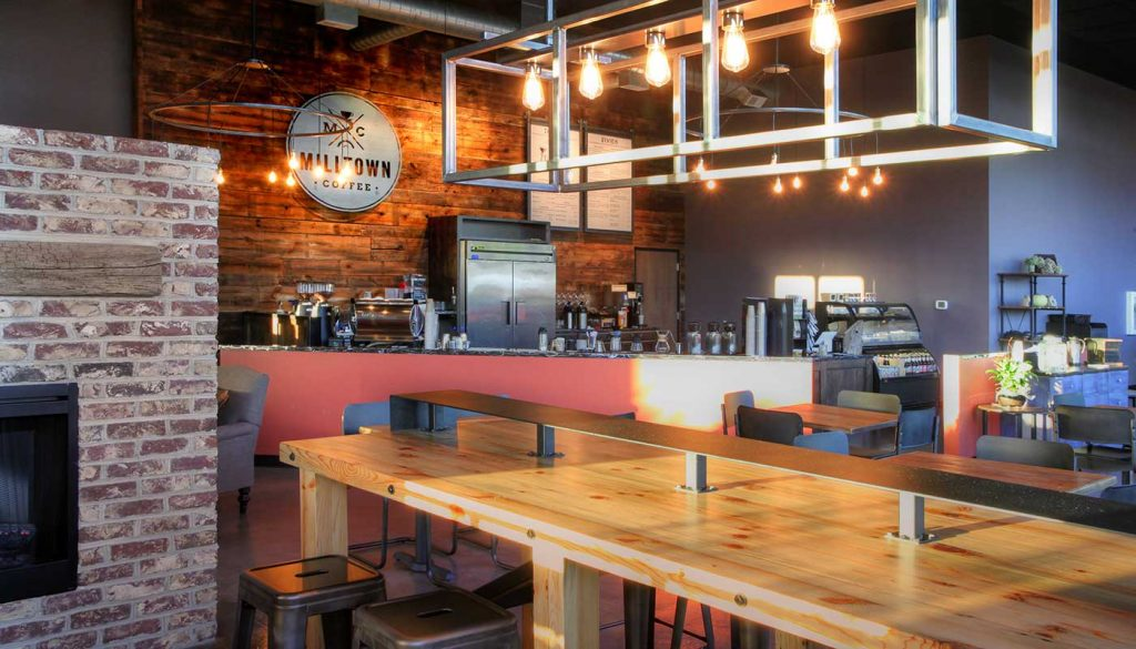 Milltown Coffee built by Daxon Construction