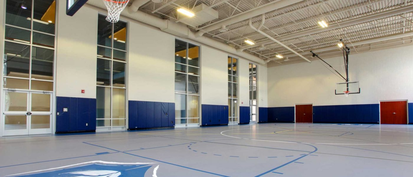 Harvest Bible Chapel's basketball court
