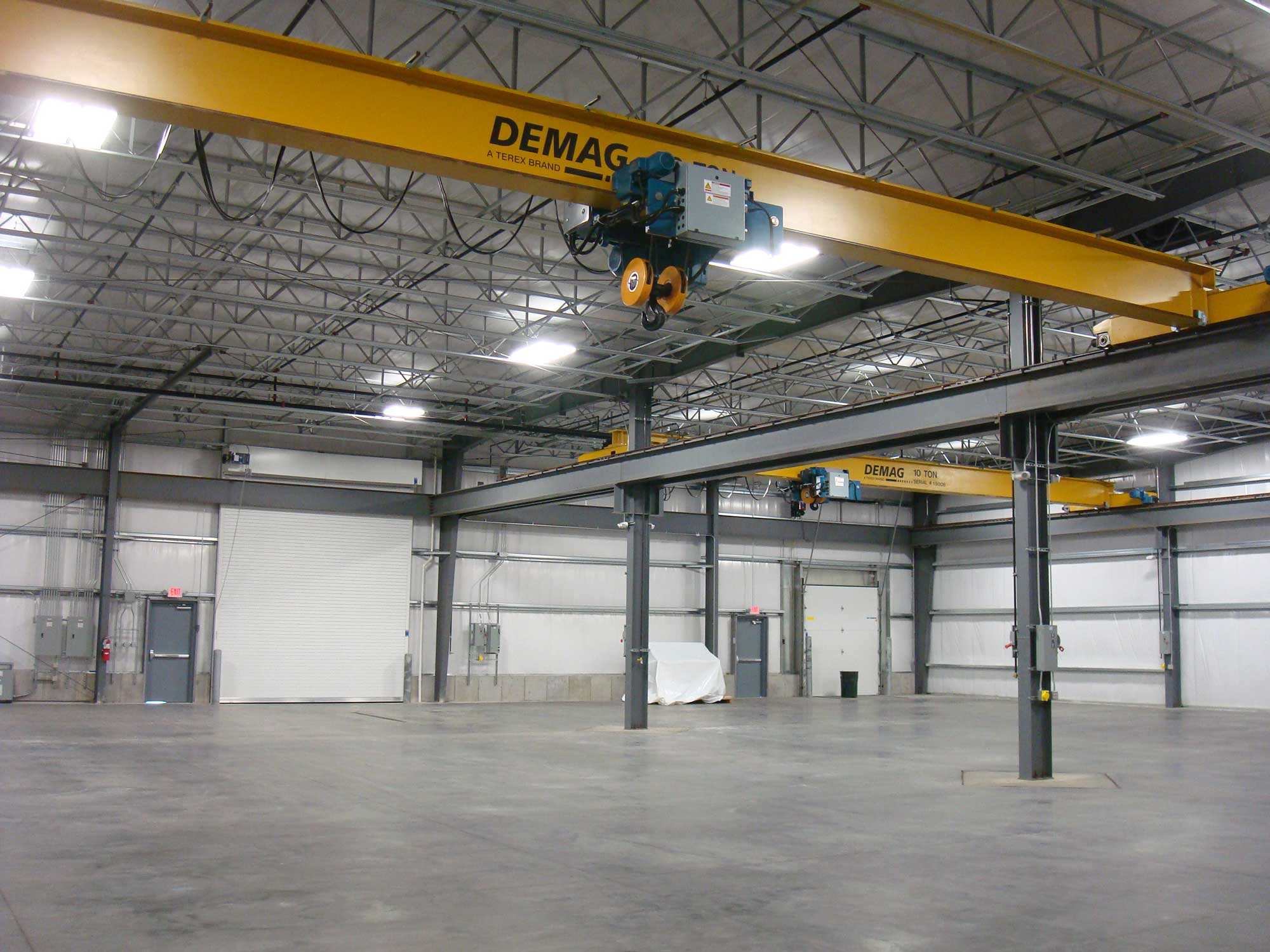 Feature of Hawk Technologies Industrial warehouse and utility building