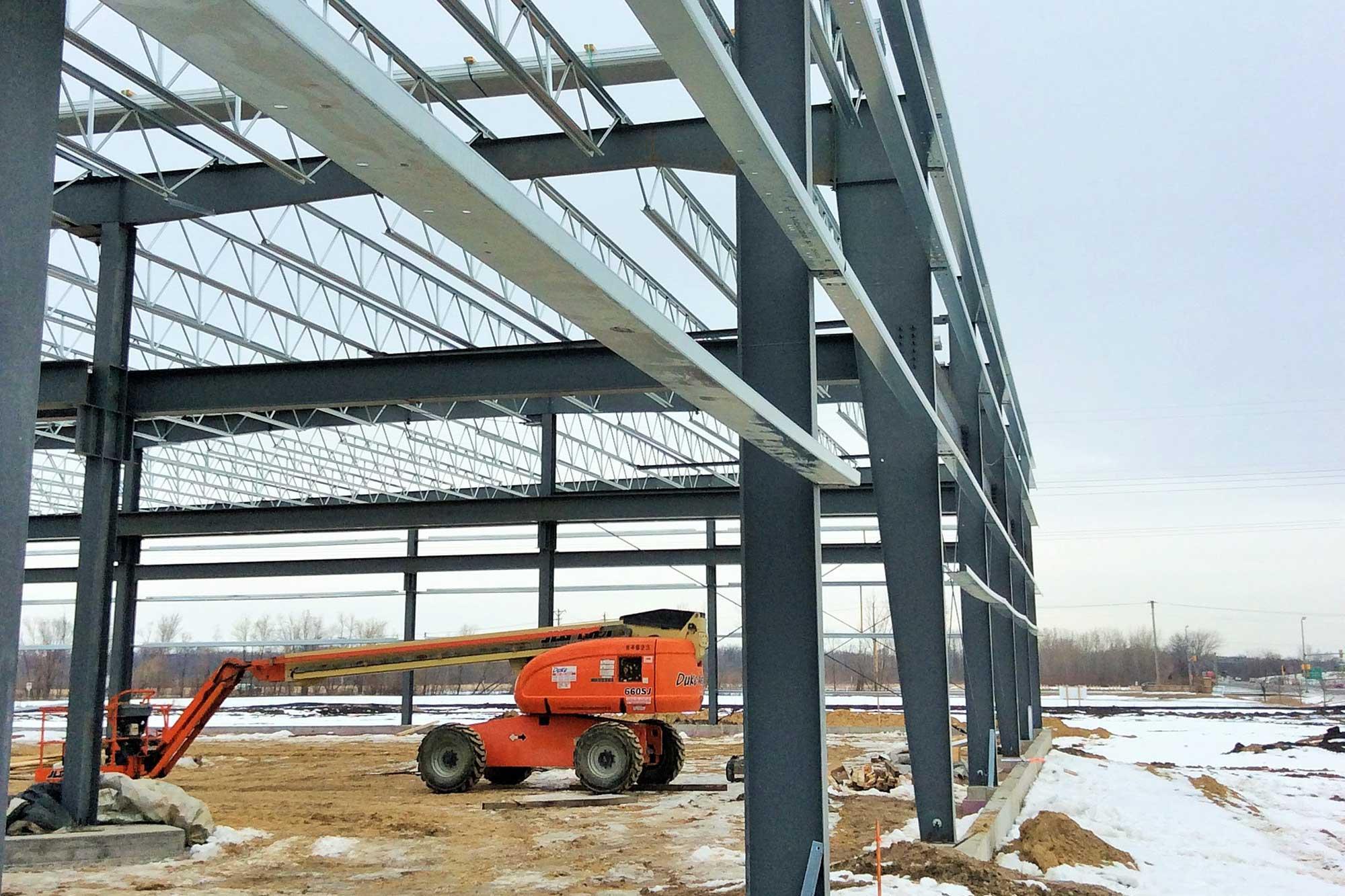 Feature of Hawk Technology build in progress