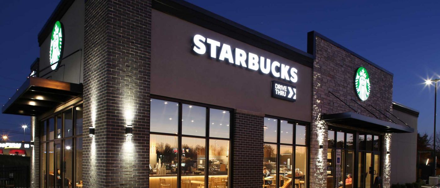 Starbucks Coffee built on John Deere Road