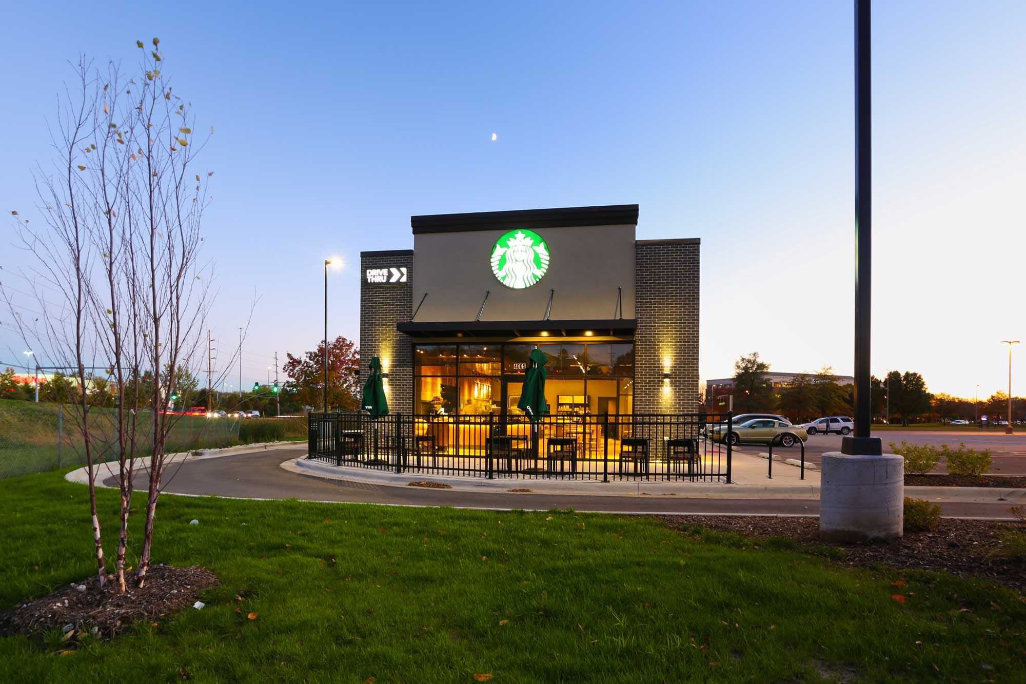 Feature of Starbucks built by Daxon Construction view 5
